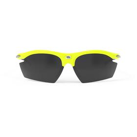 Rudy Project Rydon Glasses Yellow Fluo Gloss - RP Optics Smoke Black